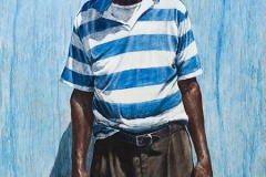 Mr Louis Taylor - 2012 - 48 x 24 inches - Egg tempera on wood