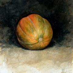 Ophelia's Pumpkin - 15 x 11 inches - Watercolour