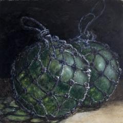 Glass balls - 11 x 11 inches - Watercolour on board